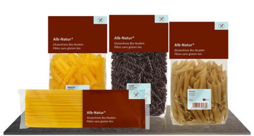 Alb-Natur glutenfreie Bio-Nudeln