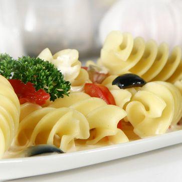 Spiraloni mit Tomaten-Mascarpone-Creme